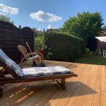 Monteurwohnung und Ferienwohnung in Haiger - Terasse und Garten